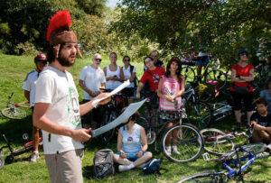 Bicicleteada Shakespeareana @ Museo Sivori - Parque 3 de febrero