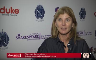El Festival Shakespeare llega a San Isidro
