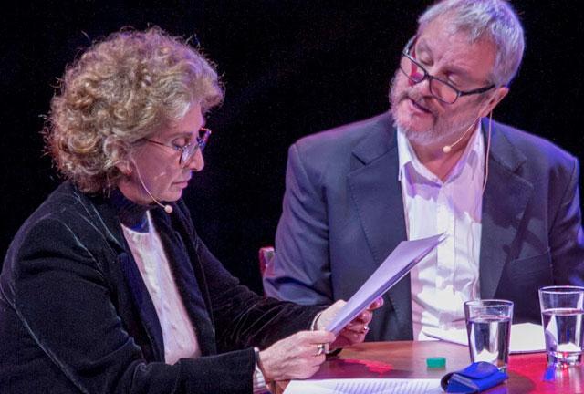 Norma Aleandro y Jorge Marrale: «Borges y Shakespeare»