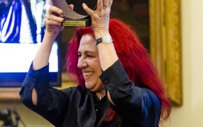 Entrega del Premio Shakespeare a Renata Schussheim